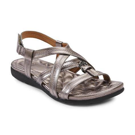i love comfort sandals i love comfort women s capri pewter foil leather sandal