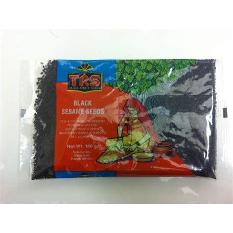 Black Sesame Seeds 100g buy trs sesame seeds get grocery germany