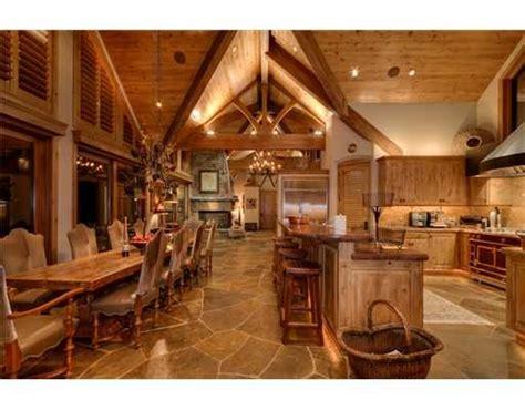 lodge kitchen tahoe lodge style kitchen amazing tahoe kitchens