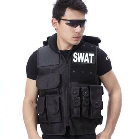 Vest Swat airsoft tactical vest swat type modular tactical combat
