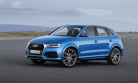 Audi Q3 2015 by 2015 Audi Q3 Revealed More Efficient Rs Q3 More Powerful