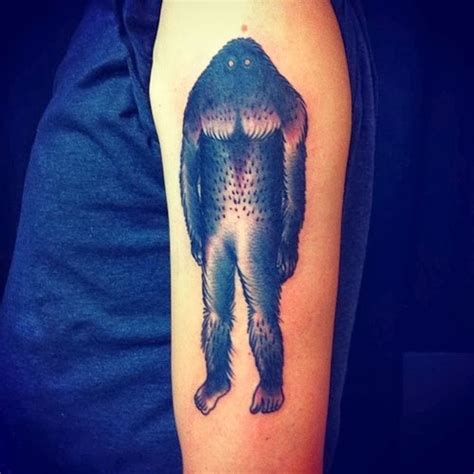 bigfoot tattoo bigfoot tattoos bigfoot research news