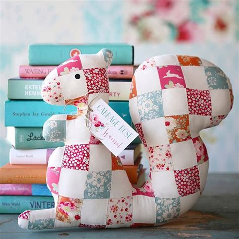 tilda patchwork squirrel kit