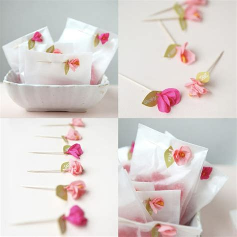 How To Make Mini Paper Flowers - comment cr 233 er une fleur en papier cr 233 pon archzine fr