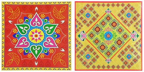 printable sticker paper india rangoli print on glazed paper sticker