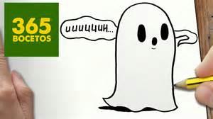 como dibujar fantasma kawaii paso paso dibujos kawaii faciles draw ghost