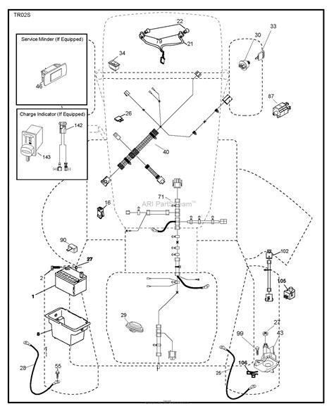 husqvarna ytav    parts diagram  electrical