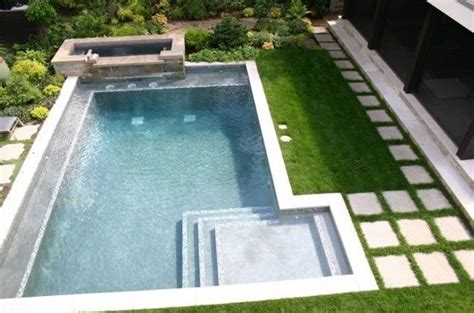 contemporary pools raised spa modern pool design swimming pool phillips