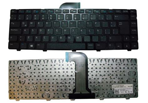 Keyboard Laptop Dell Inspiron 3421 teclado keyboard dell inspiron 14 3421 449 00 en mercadolibre