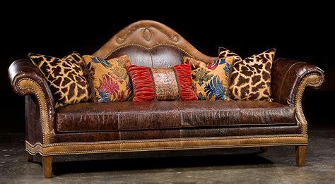 Usa Leather Cowboy Sofa Traditional Leather 88 Sofa In Usa Leather Cowboy Sofa