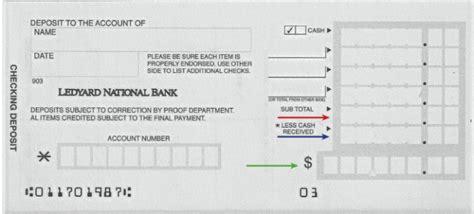 4 Printable Bank Deposit Slip Template Excel Template124 Deposit Slip Template For Quickbooks