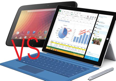 Tablet Comparison Nexus 9 nexus 9 vs microsoft surface pro 3 comparison pc advisor