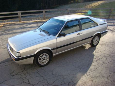Audi 4wd Models by 4wd Week 1987 Audi Coupe Quattro German Cars For Sale