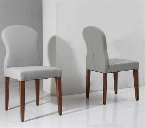 modern grey dining chairs 8968ch modern light grey eco leather dining chair