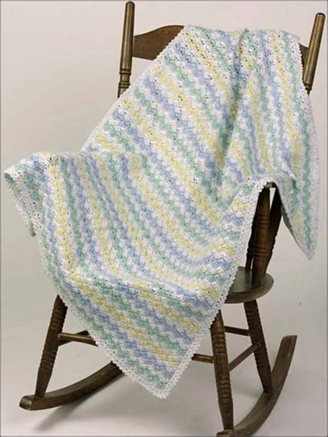 zig zag baby afghan pattern miscellaneous crochet beginner crochet patterns zigzag