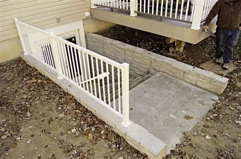 exterior basement stairs 17 best images about outside basement stairs on