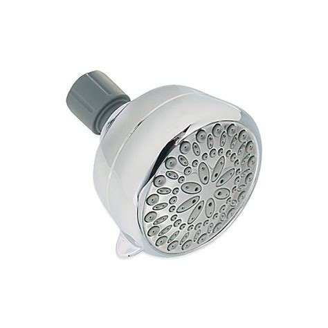 bed bath and beyond shower head delta chrome 5 spray showerhead bed bath beyond