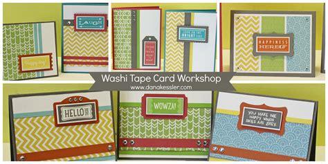 card workshop new washi card workshop scraptabulous designs