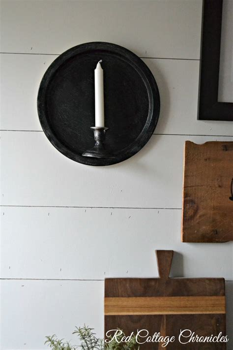 farmhouse sconce thrift store upcycle decor challenge farmhouse wall sconce