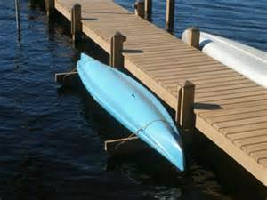 kayak or canoe rack build this beside the dock cottage
