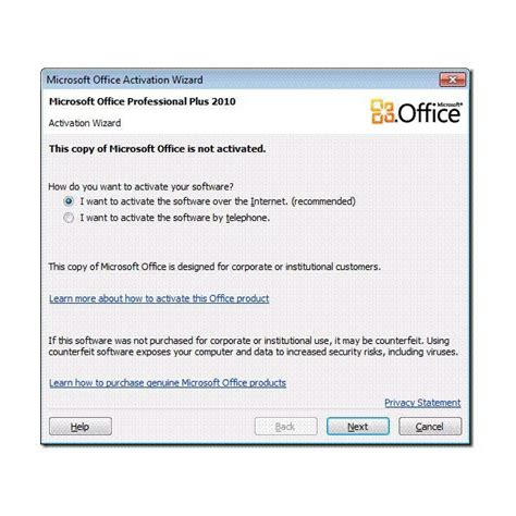 Office 2010 Activator by Microsoft Office 2010 Kako Aktivirati Activation Wizard