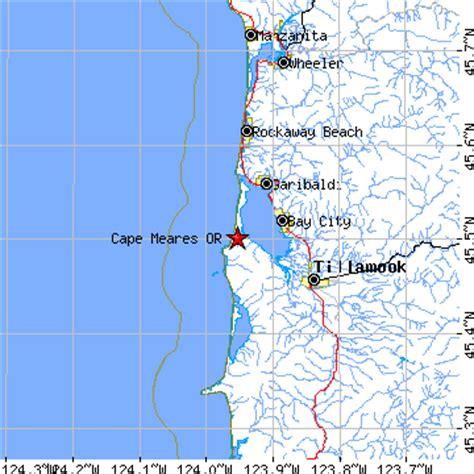 map of oceanside oregon cape meares oregon or population data races housing