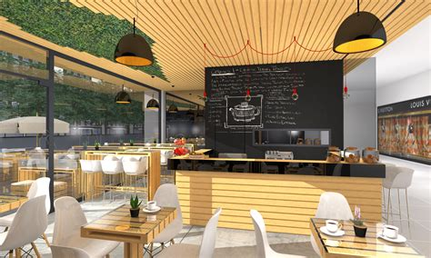 wooden coffee shop design projects uberkreative