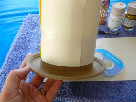How To Make Paper Top Hats - how to make a glittery corn mini top hat offbeat
