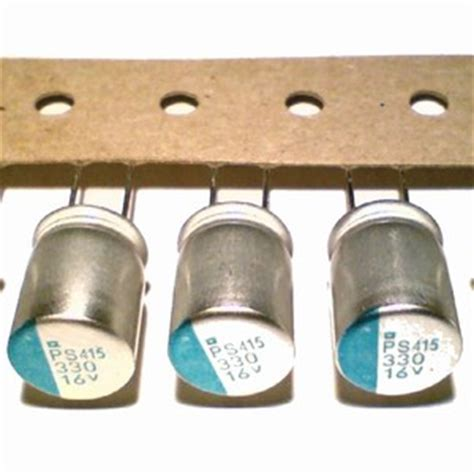 how to read polymer capacitor 2 solid functional polymer aluminum capacitor 330uf 16v ebay