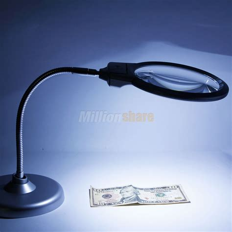 table top magnifying glass lighted table top desk magnifier magnifying glass