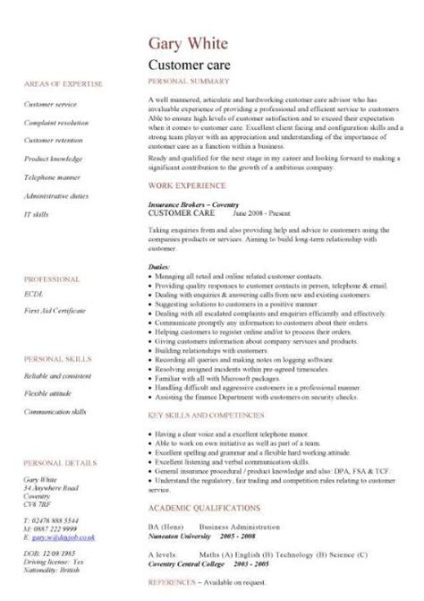resume simple sle sales cv template sales cv account manager sales rep