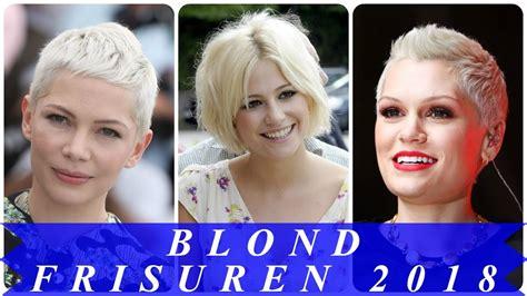 coole kurzhaarfrisuren blond  youtube