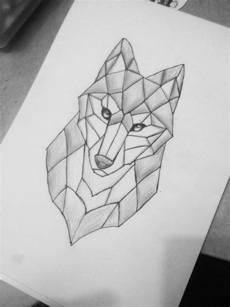 simple wolf tattoos 25 best ideas about geometric wolf on