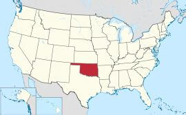 united states map of oklahoma oklahoma