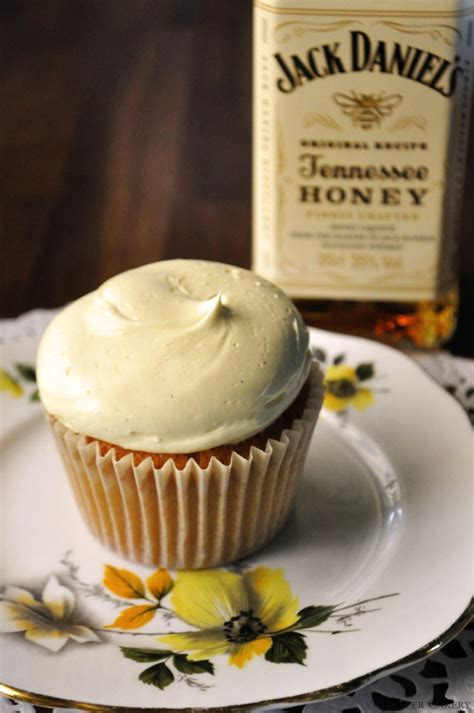 jack daniels honey cupcakes recipe honey whiskey cupcakes