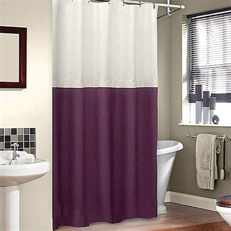 shower curtain for stall buy soho 50 inch x 84 inch stall shower curtain from bed