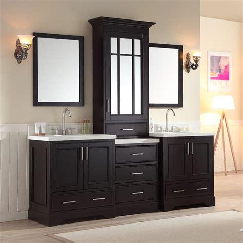 Home Design Center Vanities Ariel Bath M085d Esp Stafford 85 In Sink Vanity Set