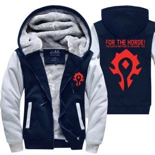 Hoodie Guilty Crown 313 Clothing wow world of warcraft thick fleece hoodies for winter