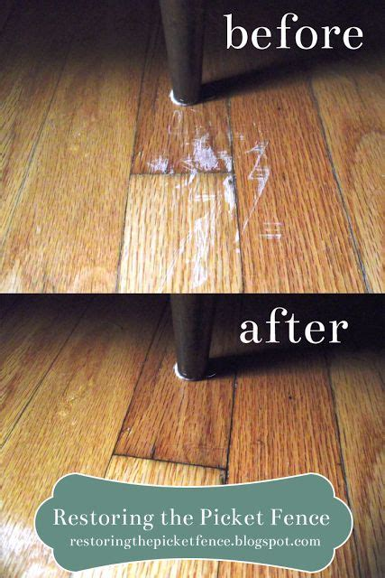 25 best ideas about repair scratched wood on