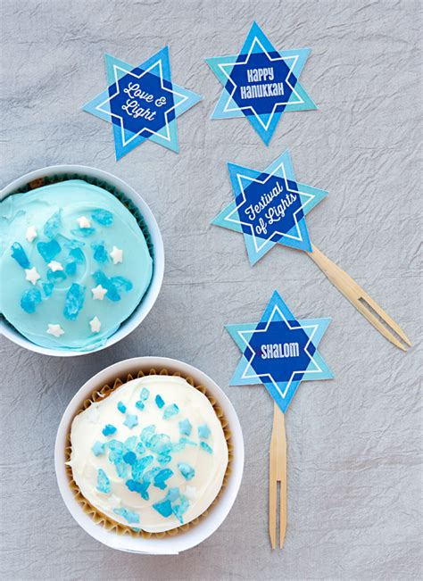 printable hanukkah decorations celebrate hanukkah with free printables evermine blog