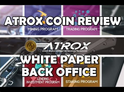bitconnect white paper atrox coin review white paper back office indonesia все