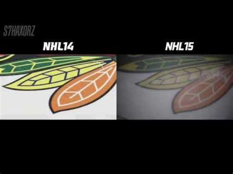 nhl 15 next gen vs current gen graphics comparison hd nhl 15 next gen graphics comparison youtube