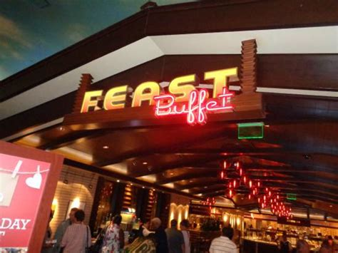 Sign Picture Of Feast Buffet At Boulder Station Las Boulder Station Casino Buffet