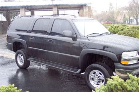 how to fix cars 2004 chevrolet suburban 2500 user handbook find used 2004 chevy suburban 2500 4x4 duramax diesel conversion salvage in atascadero
