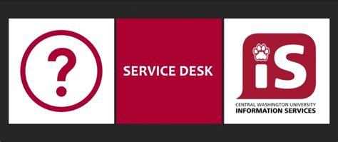 It Help Desk Logo by Cwu Service Desk