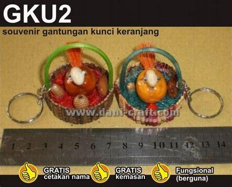 Keranjang Ayam Bekas souvenir gantungan kunci keranjang ayam gku2 souvenir