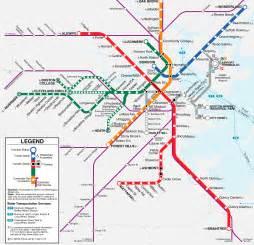 Boston Mta Map by Mbta Info About The Massachusetts Bay Transportation