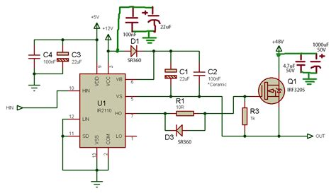 transistor irf3205 equivalent mosfet s drain and source out in high side driver circuit electronicsxchanger