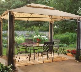 Outdoor Pergolas And Gazebos by Gazebos Pergolas And Outdoor Enclosures Sam S Club