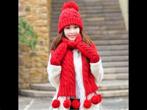 Hq 13984 Knitted Set Top 1 winter hat scarf and glove set